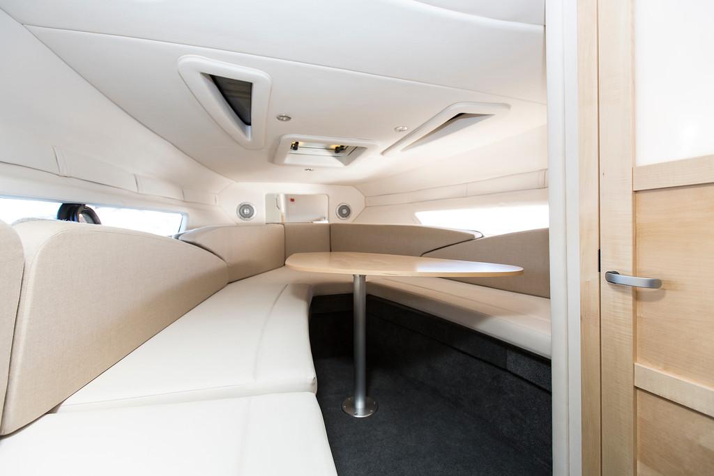 GreenCruzer 842 Cuddy Ciera 8 Sport cabin interior table
